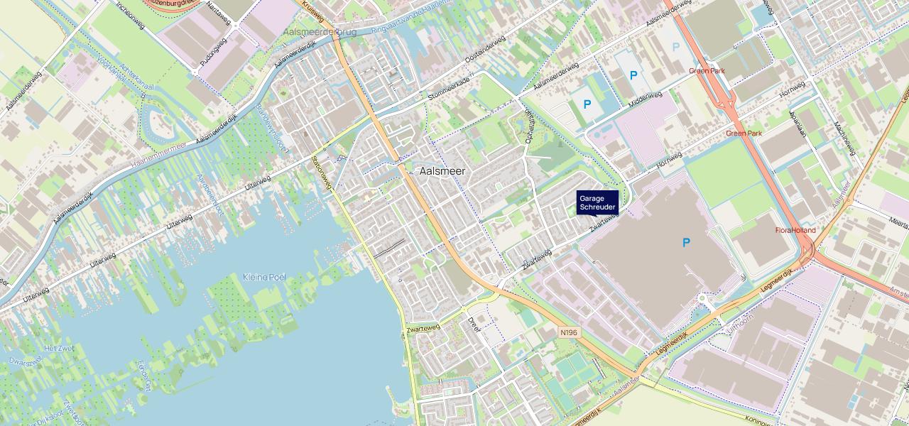 Garage Schreuder - Locatie groot  - F.A. Wentstraat 17 Aalsmeer