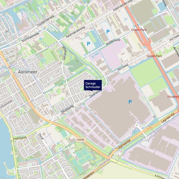 Garage Schreuder - Locatie klein - F.A. Wentstraat 17 Aalsmeer