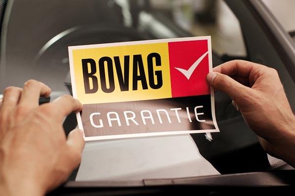 Garage Schreuder - Bovag - Garantie-sticker